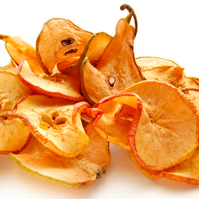 Dried Pear with seeds